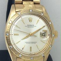 Rolex Rare 1607 DateJust Diamond Bezel