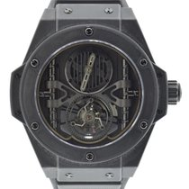 Hublot Big Bang King Power Tourbillon Black Ceramic
