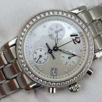 Montblanc Star Meisterstück Chronograph Lady - Diamanten -...