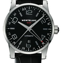 Montblanc Timewalker GMT Automatic Black Dial 7081