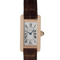Cartier Ladies 18k Gold Tank Americaine, Ref: 2503
