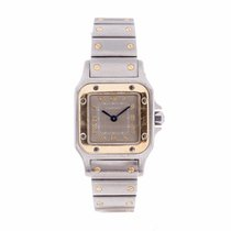 Cartier Santos Galbee Rare Grey/Bronze Dial Watch 1567...