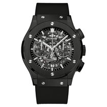 Hublot Classic Fusion Aero Chronograph Black Magic Ceramic 45mm