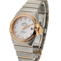 Omega 123.25.27.20.55.001 Constellation Co-Axial Ladys in 2...