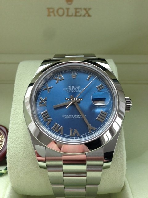 rolex datejust blau. Black Bedroom Furniture Sets. Home Design Ideas