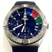 Tutima Yachting Chronograph Titanium Blue dial