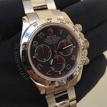 Ρολεξ (Rolex) Daytona White Gold Black Arabic