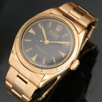 롤렉스 (Rolex) SEMI-BUBBLEBACK Ref.6101 ALL 18K ROSE GOLD GLOSSY...
