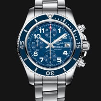 Breitling SuperOcean Chronograph 42mm Blue Mariner Dial T
