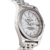 Breitling Galactic 36mm Sleek T White mother of pearl Full...
