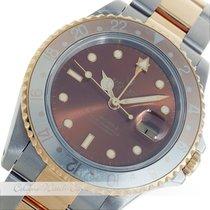 Ρολεξ (Rolex) GMT Master II Tigerauge Stahl / Gelbgold 16713