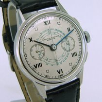 Baume & Mercier Vintage chronograph all steel art deco