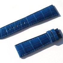 Chopard Croco Band Strap Blue 20 Mm 70/105 New C20-7 -70%