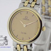 Omega De Ville Ladies Watch Steel Gold Ref. 795.1378 new...