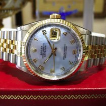 Rolex Oyster Perpetual Datejust Yellow Gold Stainless Steel...