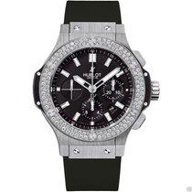 Hublot Big Bang Steel 44mm 301.sx.1170.rx.1104 Diamond Black Dial