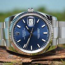 Rolex Oyster Perpetual Date 34, UNGETRAGEN, Referenz 115234