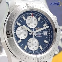 Breitling Colt Chronograph Automatic 44mm Steel Watch Mariner...