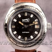 Eberhard & Co. Scafograf 400 Automatic Vintage Steel Diver...