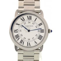 Cartier Large Cartier Ronde Solo Stainless Steel Watch 3603