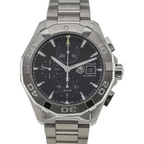 TAG Heuer Aquaracer 43 Chronograph Black Dial Calibre 16