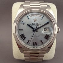 Ρολεξ (Rolex) Rolex Day-Date 40 Platinum Ice Blue