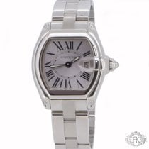 Cartier Roadster Ladies   Steel Bracelet and Leather Straps...