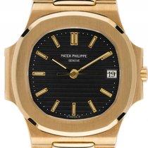 Patek Philippe Nautilus 18kt Gelbgold Automatik Armband 18kt...