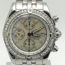 Breitling Chronomat Evolution Diamond Bezel & Markers...