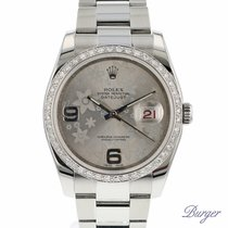 Rolex Datejust Flower Diamond Bezel