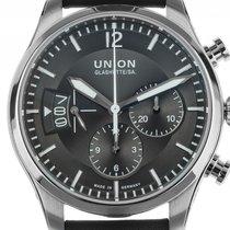 Union Glashütte Belisar Pilot Chronograph Stahl Automatik...