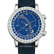 Patek Philippe Grand Complications Celestial 18K White Gold...