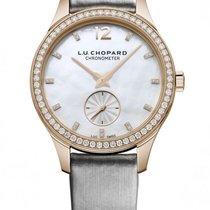 Chopard L.U.C XPS 18K Rose Gold & Diamonds Ladies Watch