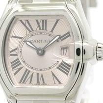 Cartier Polished Cartier Roadstar Sm Steel Quartz Ladies Watch...