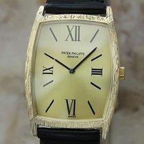 Patek Philippe Swiss Made 18k Solid Gold Luxury Dress Watch...