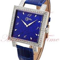 Cephee Lapis Lazuli, Blue Dial, Diamond Bezel - White Gold on...