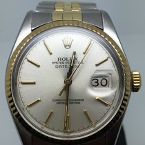 Rolex DATEJUST 36MM AUTOMATIC STEEL GOLD NICE CONDITION