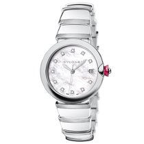Bulgari LU33WSSD/11 Lucea Automatic 33 mm Ladies Watch