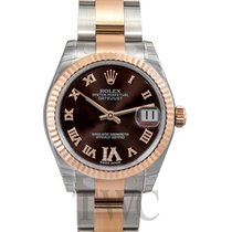 ロレックス (Rolex) Datejust Lady 31 Chocolate/18k rose gold Ø31mm -...