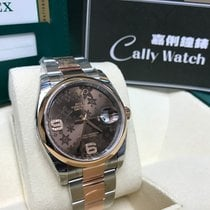 Rolex Cally - 36MM 116201 Datejust 32BRA Brown Flower [NEW]