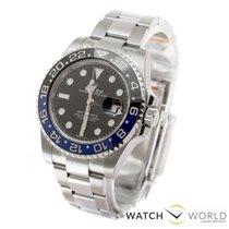 Rolex GMT-Master II Black Stainless Steel watch in stock