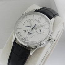 Jaeger-LeCoultre Master Geographic 142.84.21 39mm Stainless Steel