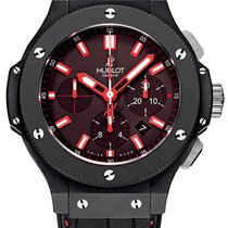 Hublot Big Bang Chrono Red Ceramic Rubber Automatic Chronograp...