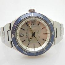 Tudor Prince OysterDate Roto Self-Winding 9121/0S S. Steel Watch