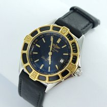 Breitling Lady J Damen Uhr Stahl/gold D52065 Black