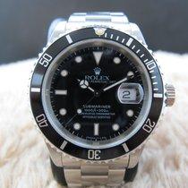 勞力士 (Rolex) SUBMARINER 16610 (T25) Black Dial with Black Bezel