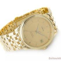 Omega 18k (0,750) Gold De Ville Chronometer Automatik Herrenuhr