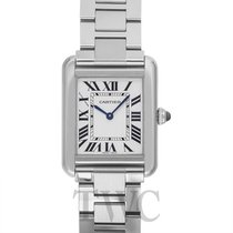 カルティエ (Cartier) Tank Solo Small Silver Steel - W5200013