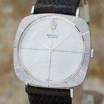 Rolex 18K White Gold 3735 Men's 1968 Manual Hand Winding...