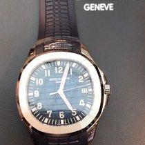 Patek Philippe 5168G-001 Aquanaut White Gold Blue Dial 42mm